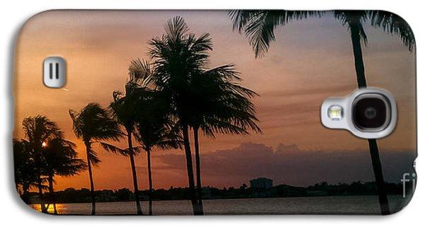 Miami Sunset Galaxy S4 Case