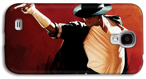 Michael Jackson Artwork 4 Galaxy S4 Case by Sheraz A