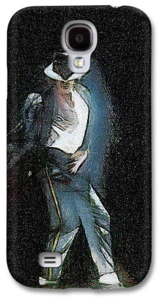 Michael Jackson Galaxy S4 Case by Georgi Dimitrov