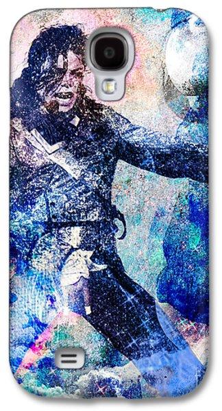 Michael Jackson Original Painting  Galaxy S4 Case by Ryan Rock Artist