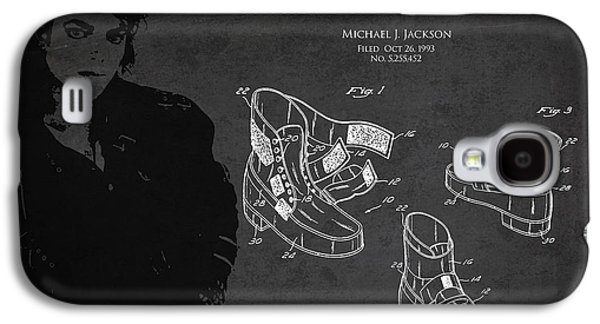Michael Jackson Patent Galaxy S4 Case by Aged Pixel