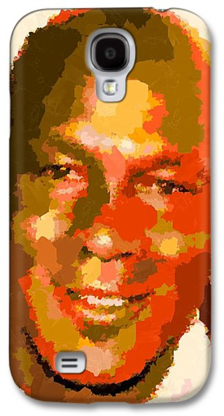Michael Jordan - Abstract Galaxy S4 Case by Samuel Majcen