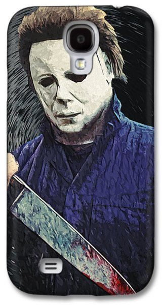 Michael Myers  Galaxy S4 Case by Taylan Apukovska