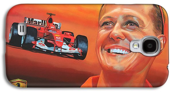 Michael Schumacher 2 Galaxy S4 Case by Paul Meijering