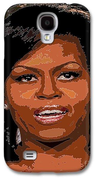 Michelle Obama Galaxy S4 Case by Dalon Ryan