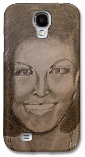 Michelle Obama Galaxy S4 Case by Irving Starr