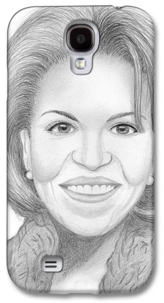 Michelle Obama Galaxy S4 Case by M Valeriano