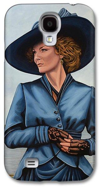 Michelle Pfeiffer Galaxy S4 Case by Paul Meijering