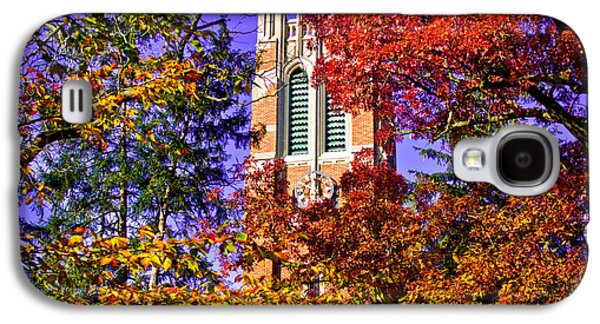 Michigan State Galaxy S4 Case - Michigan State University Beaumont Tower by John McGraw