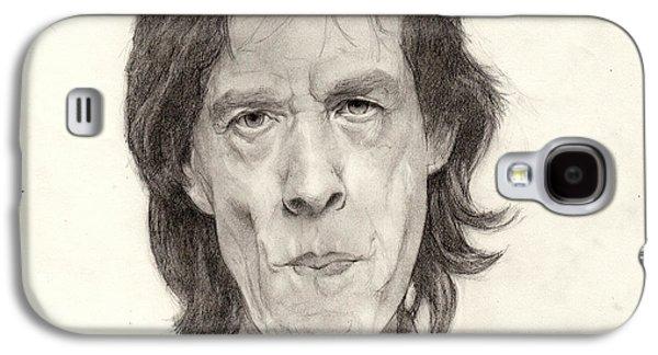 Mick Jagger 2 Galaxy S4 Case by Glenn Daniels
