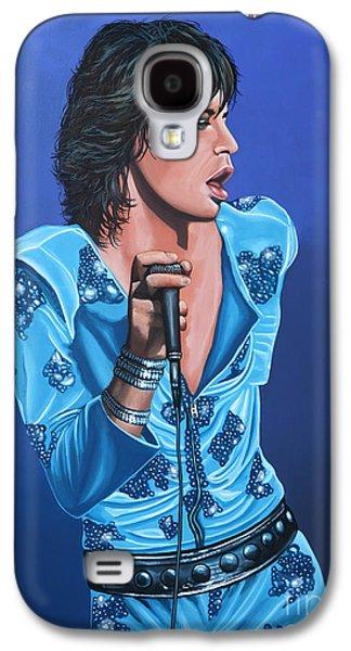 Musicians Galaxy S4 Case - Mick Jagger by Paul Meijering