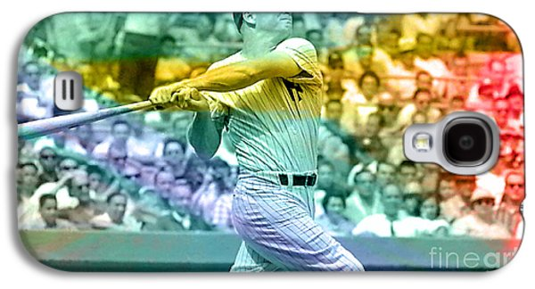Mickey Mantle Galaxy S4 Case by Marvin Blaine