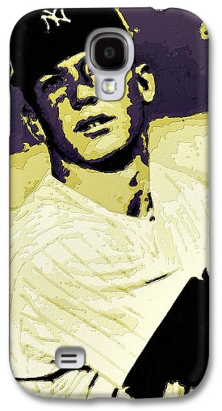 Mickey Mantle Poster Art Galaxy S4 Case