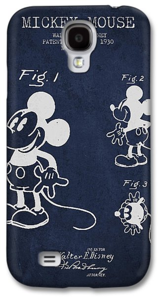 Mickey Mouse Patent Drawing From 1930 Galaxy S4 Case by Aged Pixel