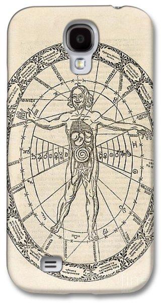 Microcosm And Macrocosm, 17th Century Galaxy S4 Case