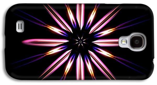 Microgravity Flames Artwork Galaxy S4 Case