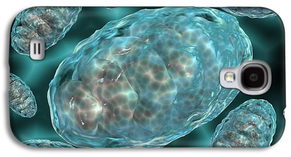 Microscopic View Of Mitochondria Galaxy S4 Case by Stocktrek Images