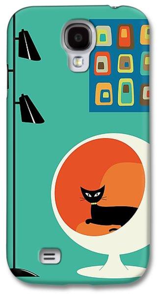 Mid Century Mini Oblongs Galaxy S4 Case