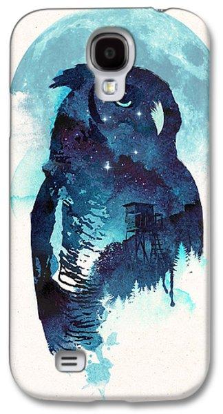 Midnight Owl Galaxy S4 Case by Robert Farkas