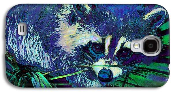 Midnight Racoon Galaxy S4 Case by Jane Schnetlage