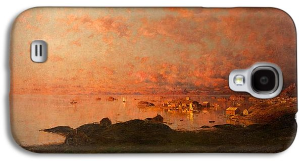 Midsummer Night, Lofoten, Norway Galaxy S4 Case by Adelsteen Normann