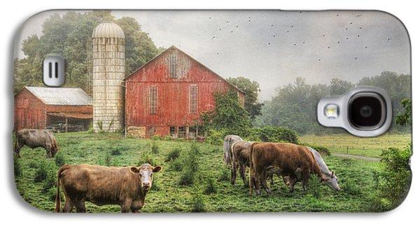 Mifflintown Farm Galaxy S4 Case by Lori Deiter