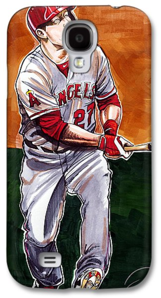 Mike Trout Galaxy S4 Case