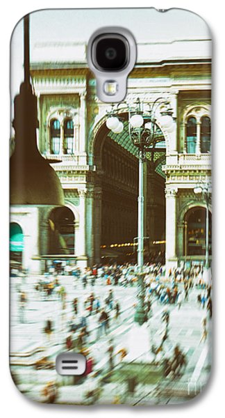 Galaxy S4 Case featuring the photograph Milan Gallery by Silvia Ganora