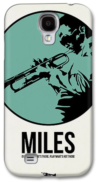 Miles Poster 1 Galaxy S4 Case by Naxart Studio