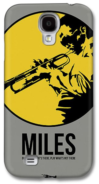 Miles Poster 3 Galaxy S4 Case by Naxart Studio