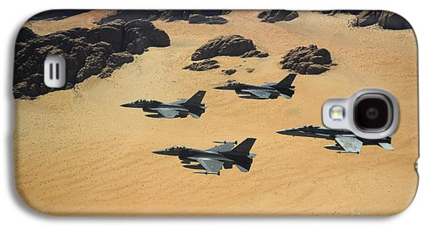 Military Planes Flying Over The Wadi Galaxy S4 Case by Stocktrek Images