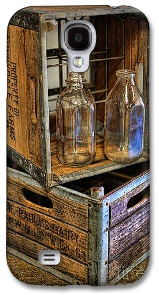 Milk Bottles And Crates Galaxy S4 Case by Lee Dos Santos