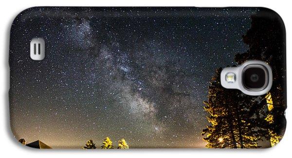 Milky Way From Oldham South Dakota Usa Galaxy S4 Case by Aaron J Groen