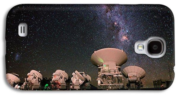 Milky Way Over Alma Telescopes Galaxy S4 Case by Babak Tafreshi