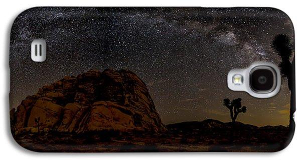 Milky Way Over Joshua Tree Galaxy S4 Case