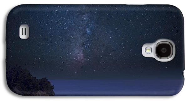 Milky Way Over Mcway Falls Galaxy S4 Case by Keith Kapple
