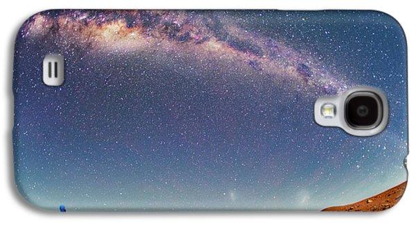Milky Way Over The Atacama Desert Galaxy S4 Case by Juan Carlos Casado (starryearth.com)