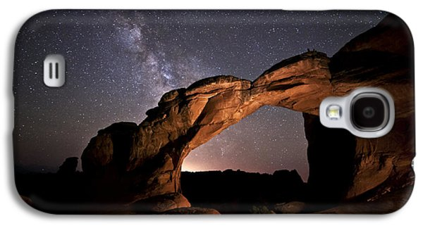 Milkyway Over Broken Arch Galaxy S4 Case