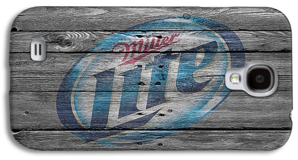 Miller Lite Galaxy S4 Case by Joe Hamilton