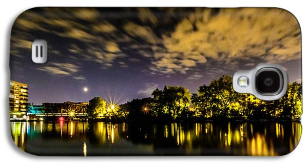 Milwaukee Riverwalk Galaxy S4 Case by Randy Scherkenbach