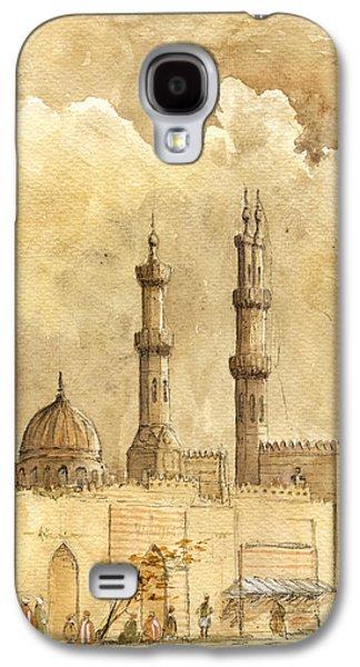 Minaret Of Al Azhar Mosque Galaxy S4 Case by Juan  Bosco