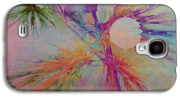 Mind Energy Aura Galaxy S4 Case by Deborah Benoit