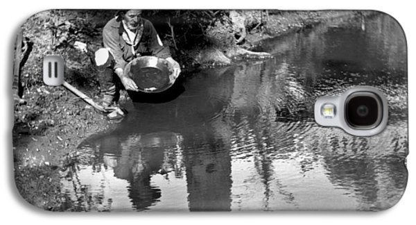 Miner Panning For Gold Galaxy S4 Case by Underwood Archives