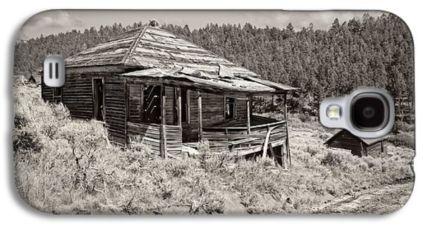 Miner's Shack - Comet Ghost Mine - Montana Galaxy S4 Case by Daniel Hagerman