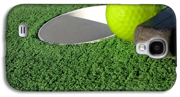 Miniature Golf Galaxy S4 Case by Olivier Le Queinec