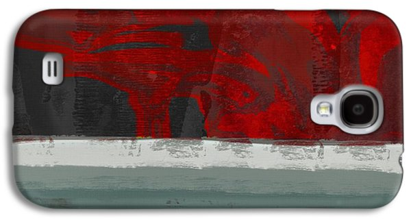 Minima - Floral 01rbg Galaxy S4 Case by Variance Collections
