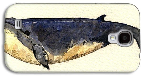 Minke Whale Galaxy S4 Case
