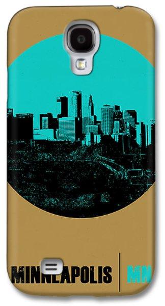 Minneapolis Circle Poster 1 Galaxy S4 Case