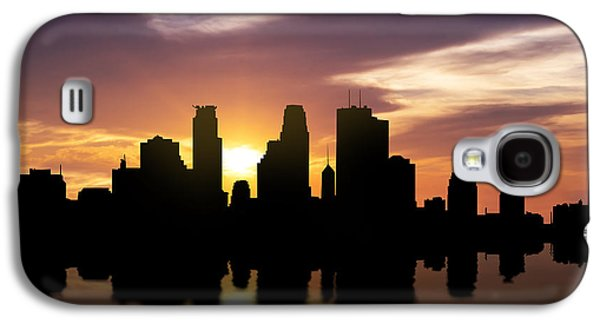 Minneapolis Sunset Skyline  Galaxy S4 Case