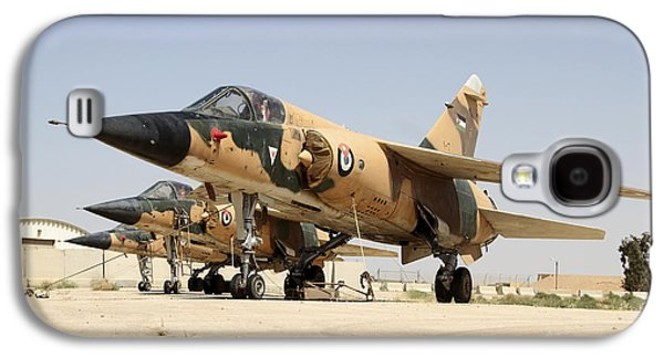 Mirage F.1 Fighter Planes Of The Royal Galaxy S4 Case by Ofer Zidon